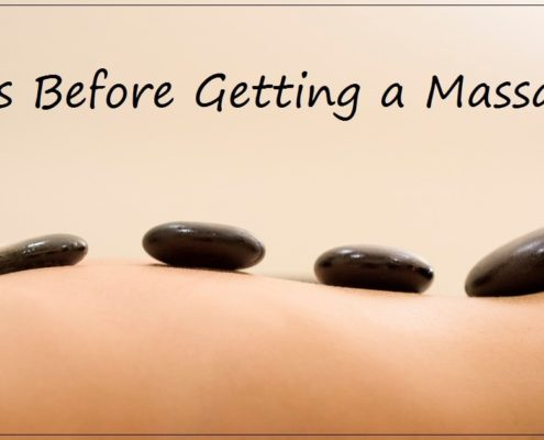 Massage rules Tips before getting a massage